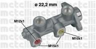 Pompa centrala, frana DAEWOO Cielo  (KLETN) 1.5 (55KW / 75CP)METELLI 05-0189