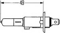 Bec far faza lunga PEUGEOT 307 StationWagon (3H) 2.0 HDI 110 (79KW / 107CP)HELLA 8GH 002 089-133