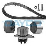 Set pompa apa+curea dintata PEUGEOT 106 I  (1A, 1C) 1.4 D (37KW / 50CP)DAYCO KTBWP1030