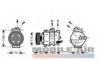 Compresor, climatizare VAN WEZEL