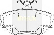 Set placute frana, frana disc DACIA Logan  (LS_) 1.4 (LSOA, LSOC, LSOE, LSOG) (55KW / 75CP)BRECK 21463 00 702 10