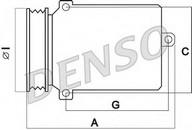 Compresor, climatizare VW Crafter 30-35 (2E_) 2.5 TDI (80KW / 109CP)DENSO DCP17073