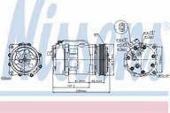 Compresor, climatizare NISSENS