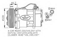 Compresor, climatizare NRF