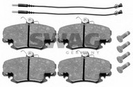 Set placute frana, frana disc DACIA Logan  (LS_) 1.4 (LSOA, LSOC, LSOE, LSOG) (55KW / 75CP)SWAG 60 91 6191