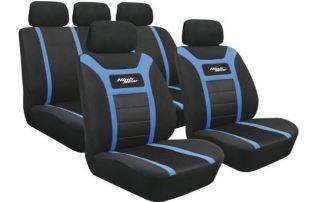 Huse scaune auto Lampa Universal High-Gear Albastru