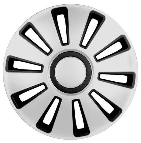 Capace roti Lampa Silverstone R16 argintiu cu negru