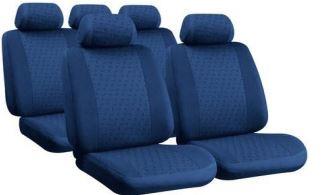 Huse scaune auto Lampa Universal Glamur Albastru