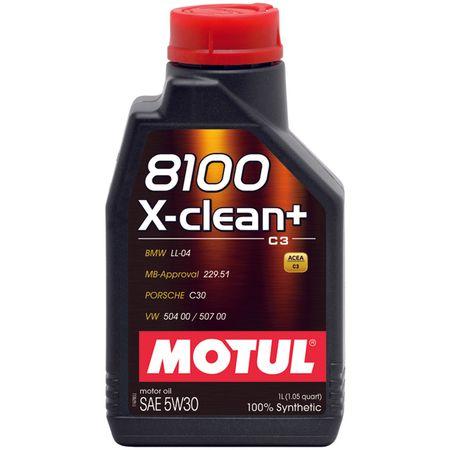 Ulei motor Motul 8100 X-clean + 5W30 1L