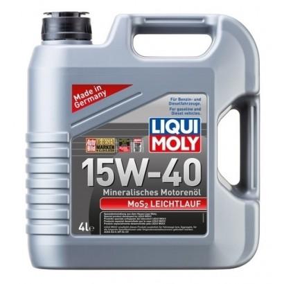 Ulei motor Liqui Moly MOS2 Leichtlauf 15W40 4L
