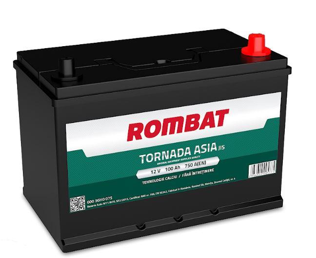 Baterie Rombat Tornada Asia 100AH 750A 12V 60036H0075ROM