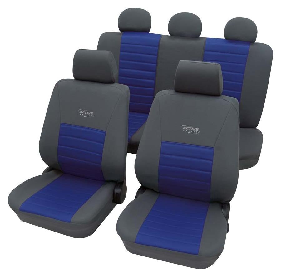 Huse scaune auto Petex Universal Active Sports Albastru