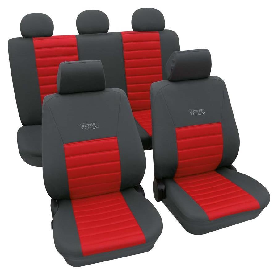 Huse scaune auto Petex Universal Active Sports Rosu