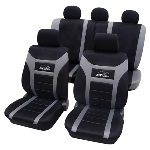 Huse scaune auto Petex Universal Super Speed Gri