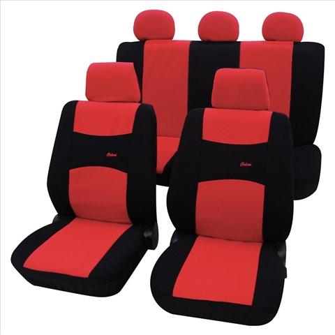 Huse scaune auto Petex Universal Colori Rosu