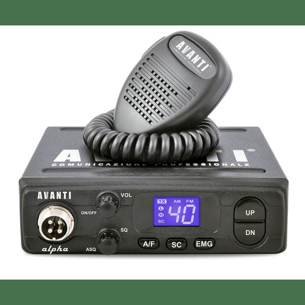 Statie radio Avanti Alpha CB 4W