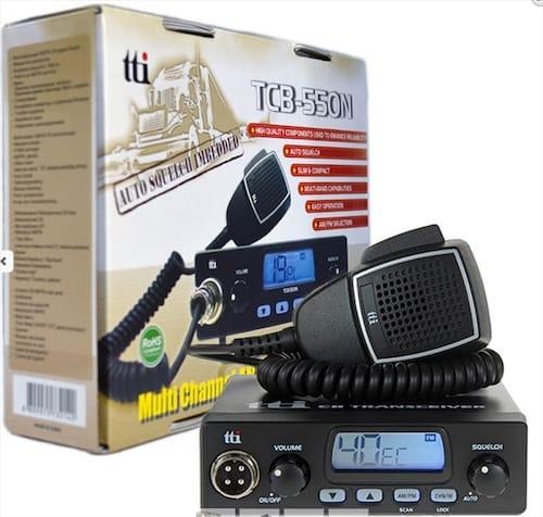Statie radio TTI TCB-550 CB 4W