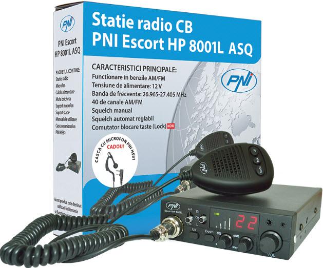Statie radio PNI Escort HP 8001L ASQ