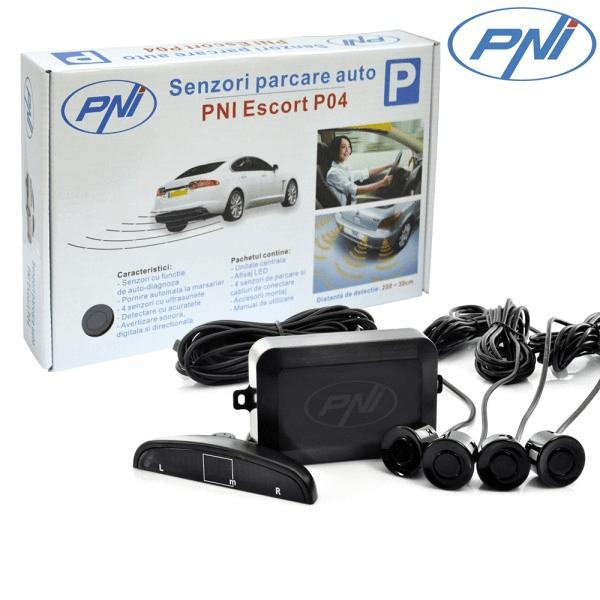 Senzori de parcare PNI Escort P04 cu 4 receptori