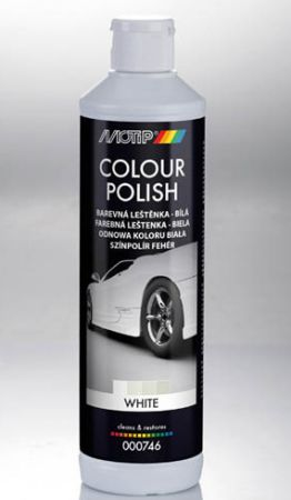 Polish auto alb Motip 500ml