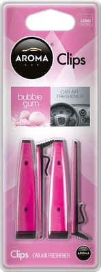 Odorizant auto Aroma Clips Bubblegum