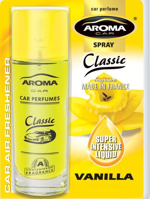 Odorizant auto Aroma Spray Vanilla