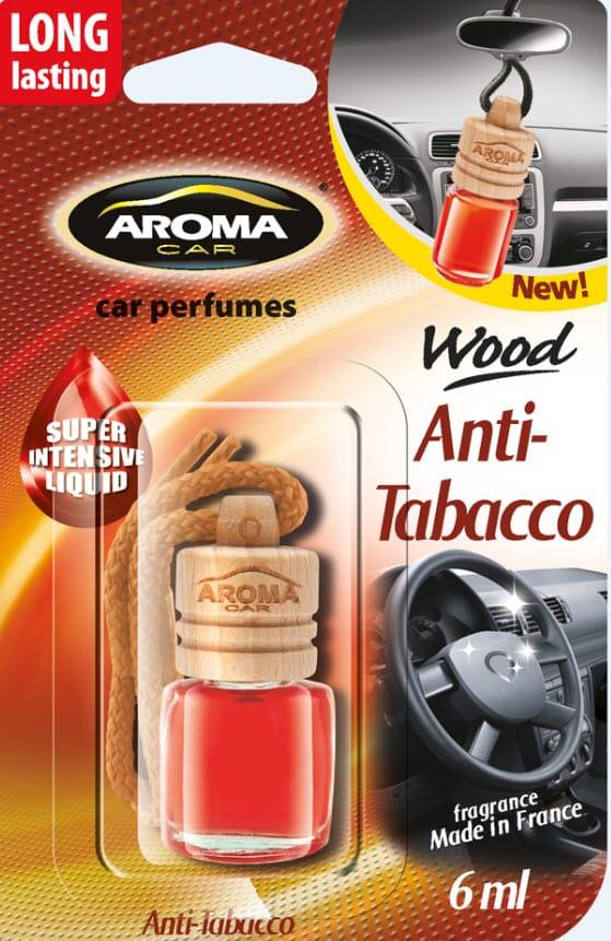 Odorizant auto Aroma Wood Antitabacco