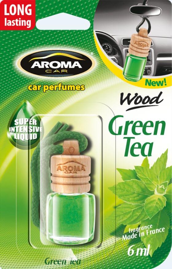 Odorizant auto Aroma Wood Greentea