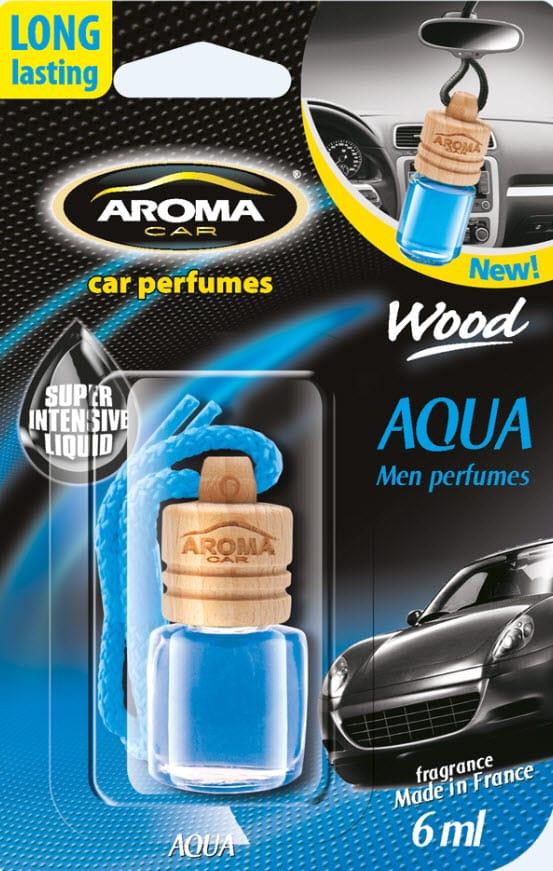 Odorizant auto Aroma Wood Aqua