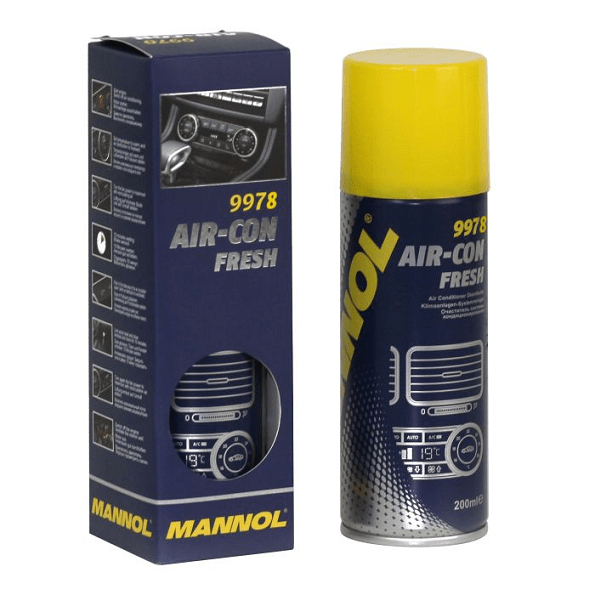 Spray igienizare aer conditionat Mannol Aircon Fresh 200ml