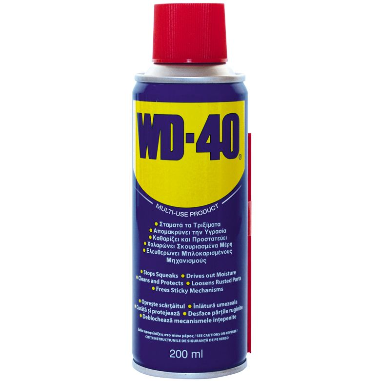 Spray lubrifiant auto WD-40 multifunctional 200ml