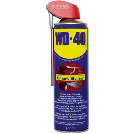 Spray lubrifiant auto WD-40 Smart Straw multifunctional 450ml