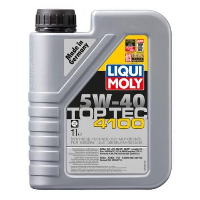 Ulei motor Liqui Moly Top Tec 4100 5W40 1L