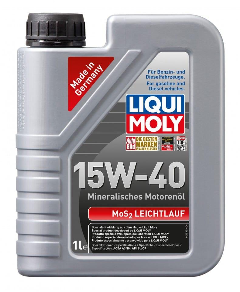 Ulei motor Liqui Moly MOS2 Leichtlauf 15W40 1L