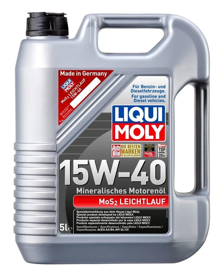 Ulei motor Liqui Moly MOS2 Leichtlauf 15W40 5L