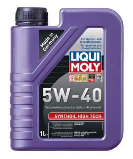 Ulei motor Liqui Moly Synthoil High Tech 5W40 1L