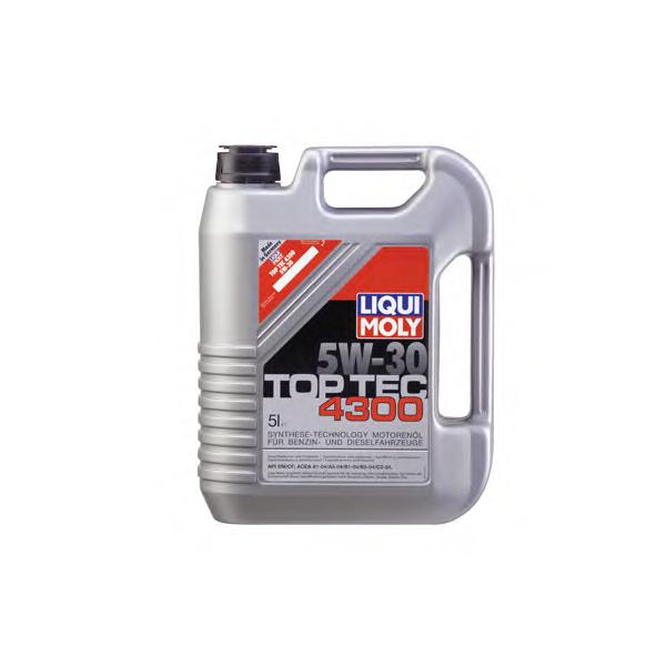 Ulei motor Liqui Moly Top Tec 4300 5W30 5L