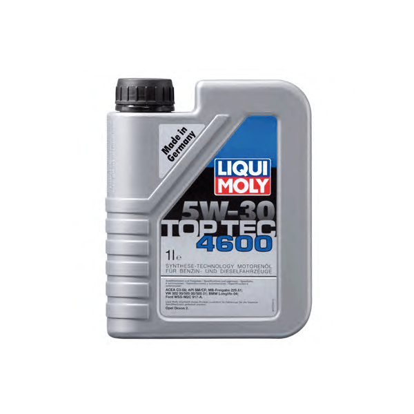 Ulei motor Liqui Moly Top Tec Dexos 2 4600 5W30 1L