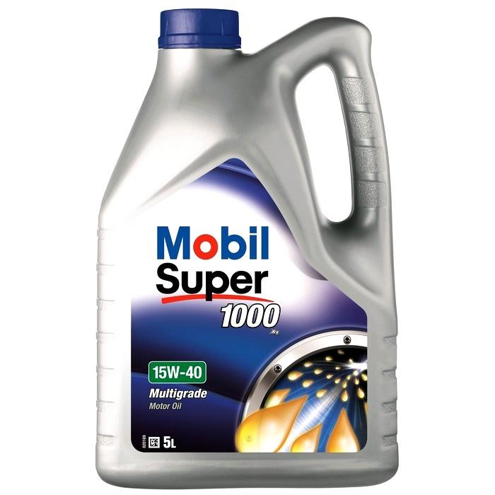 Ulei motor Mobil Super 1000 X1 15W40 5L