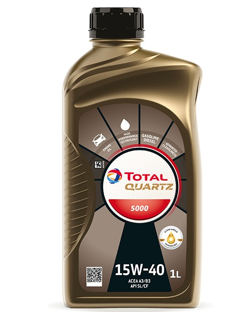 Ulei motor Total Quartz 5000 15W40 1L