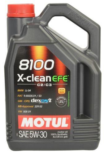 Ulei motor Motul 8100 X-clean EFE 5W30 4L