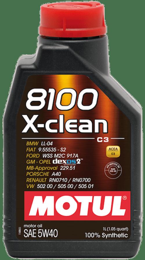 Ulei motor Motul 8100 X-clean 5W40 1L