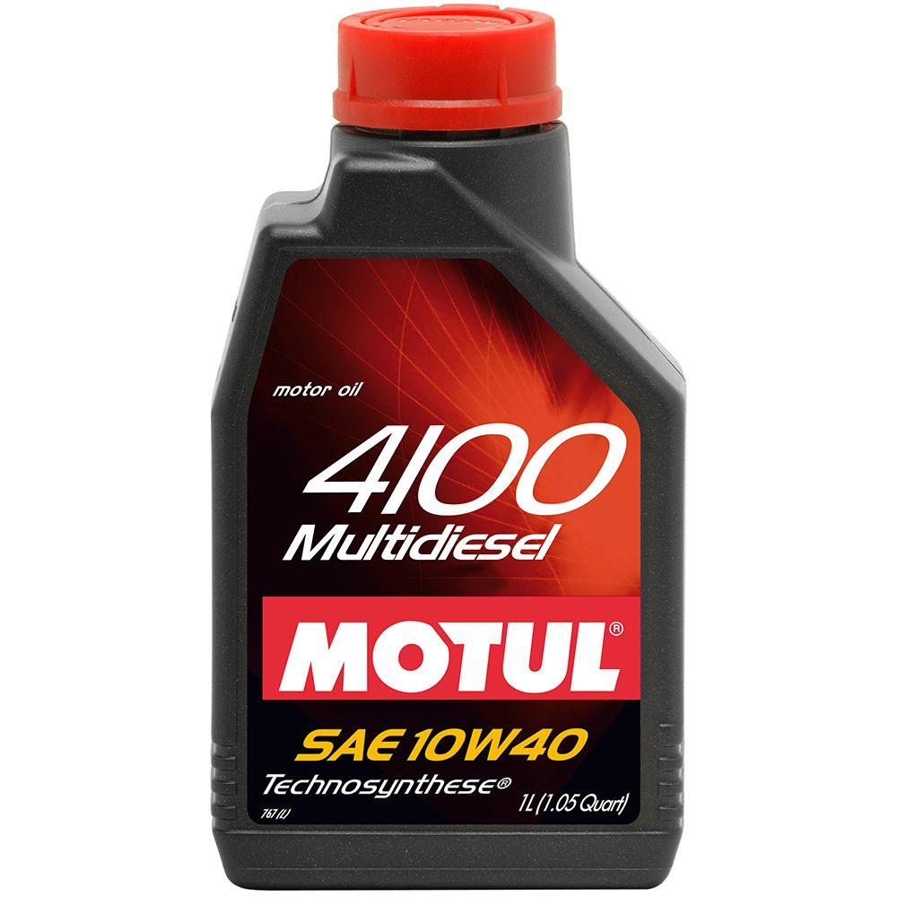 Ulei motor Motul 4100 Multi Diesel 10W40 1L