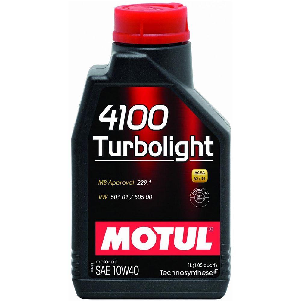 Ulei motor Motul 4100 Turbolight 10W40 1L