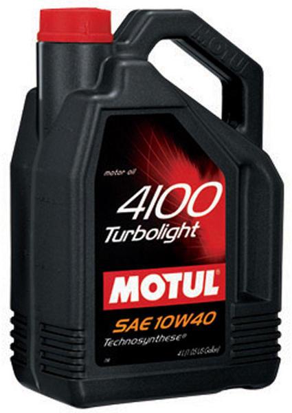 Ulei motor Motul 4100 Turbolight 10W40 4L