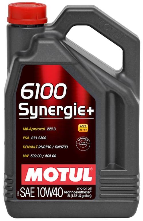 Ulei motor Motul 6100 Synergie+ 10W40 5L