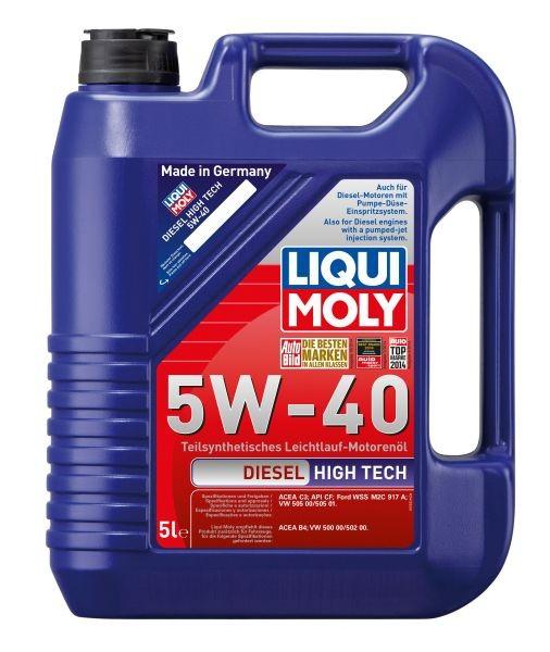 Ulei motor Liqui Moly Diesel High Tech 5W40 5L
