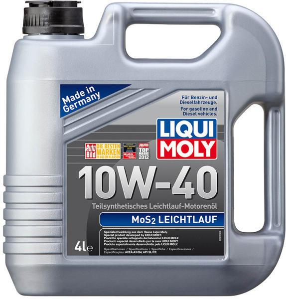 Ulei motor Liqui Moly MOS2 Leichtlauf 10W40 4L