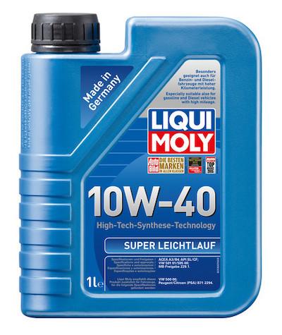 Ulei motor Liqui Moly Super Leichtlauf 10W40 1L