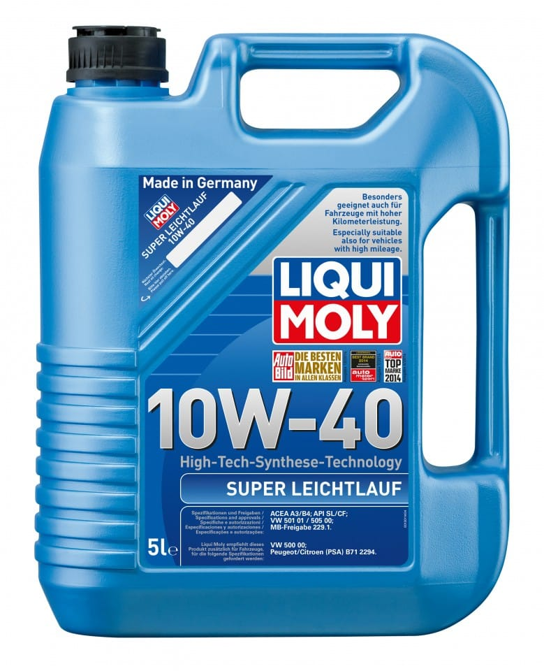 Ulei motor Liqui Moly Super Leichtlauf 10W40 5L